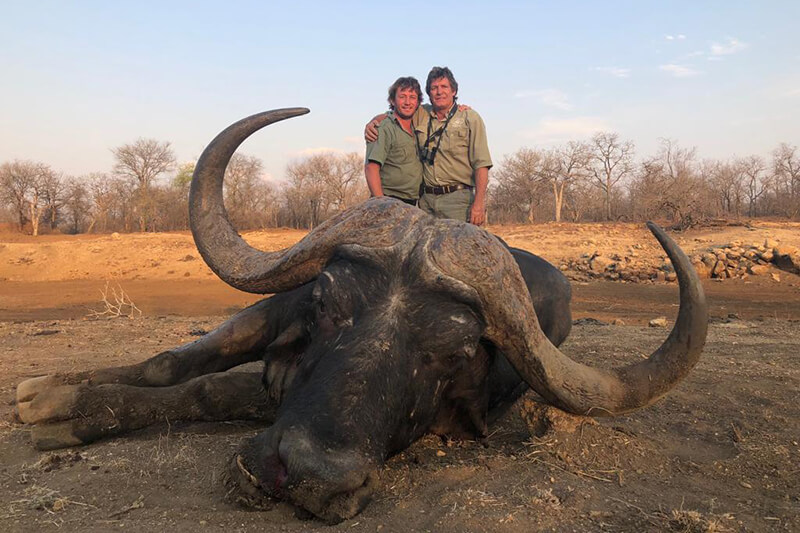 buffalo hunting in Tanzania