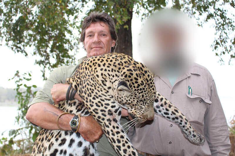 leopard hunting in tanzania